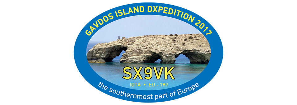 DXPEDITION TO GAVDOS ISLAND – SX9VK